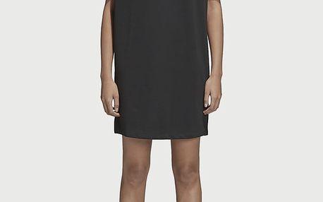 Šaty adidas Originals Raglan Dress Černá