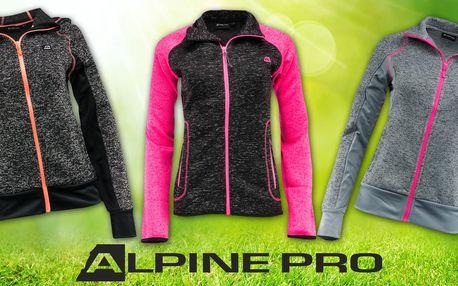 Dámské svetry Alpine Pro na zip