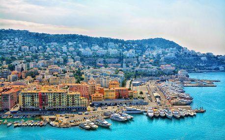 Krásy azurového pobřeží | Nice, Cannes i Monako | 5denní poznávací zájezd do Francie