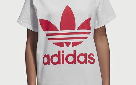 Tričko adidas Originals Big Trefoil Tee Bílá
