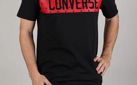 Tričko Converse Star Block Tee Černá