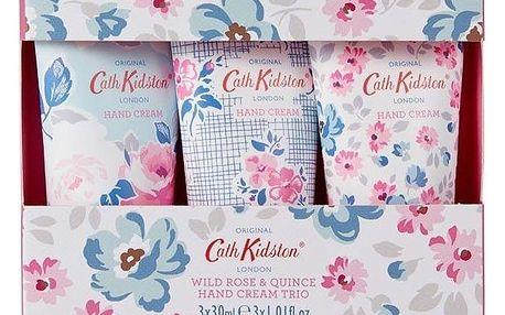 Cath Kidston Sada mini krémů Wild Rose and Quince - 3x30 ml, multi barva
