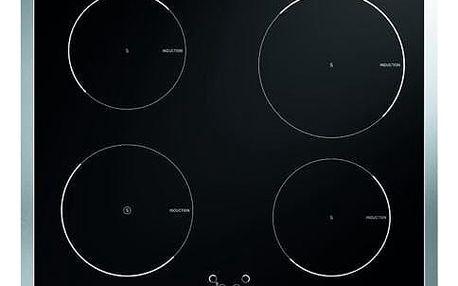 Indukční varná deska Mora VDI 640 X černá/nerez