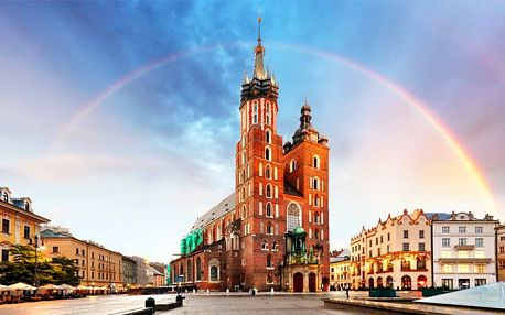 Celodenní zájezd pro 1 do polského Krakova a dolu Wieliczka