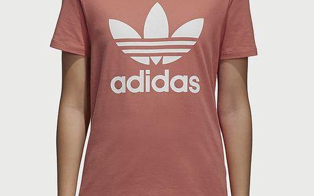 Tričko adidas Originals Trefoil Tee Růžová