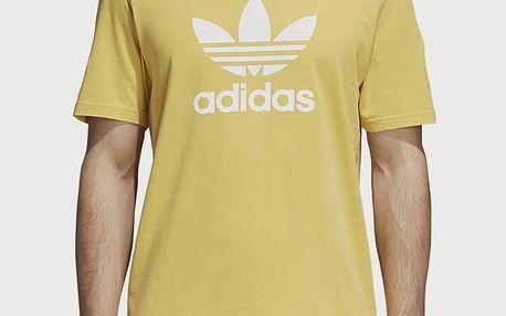 Tričko adidas Originals Trefoil T-Shirt Žlutá