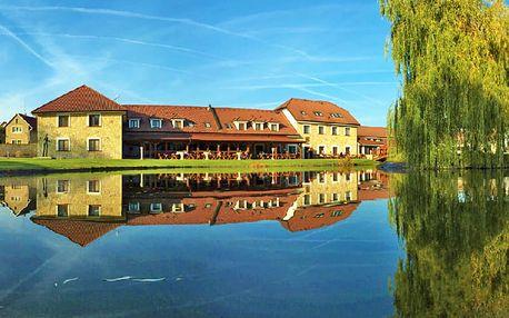 Božské léto: Střední Čechy v hotelu LIONS v překrásném areálu s neomezeným wellness, polopenzí i procedurami