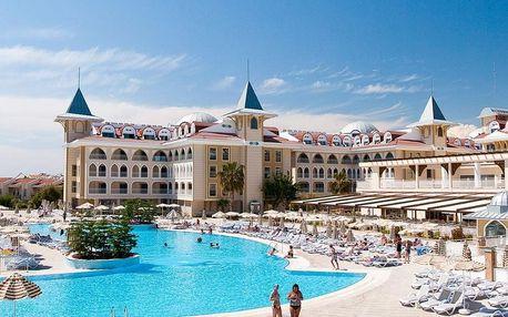 Turecko - Side na 8 až 9 dní, all inclusive s dopravou letecky z Prahy