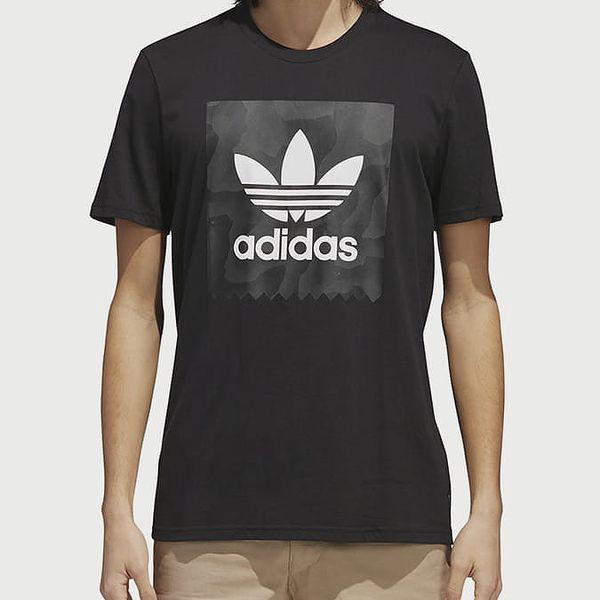Tričko adidas Originals Bb Warp Tee Černá