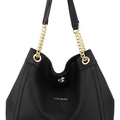 Dámská černá kabelka Letitia 561