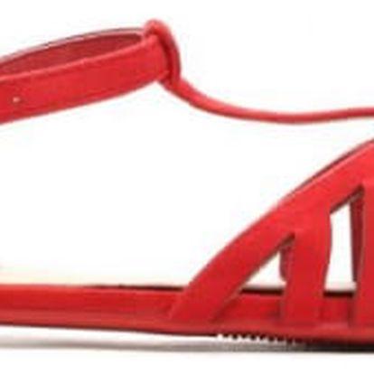 Dámské červené sandály Alyson 1459