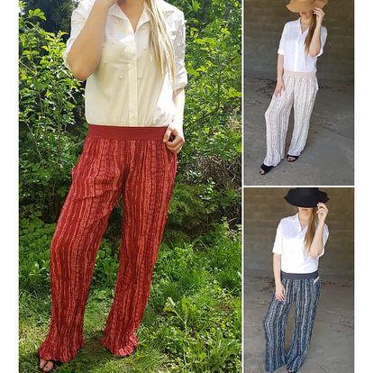 Volné dámské kalhoty Indiana