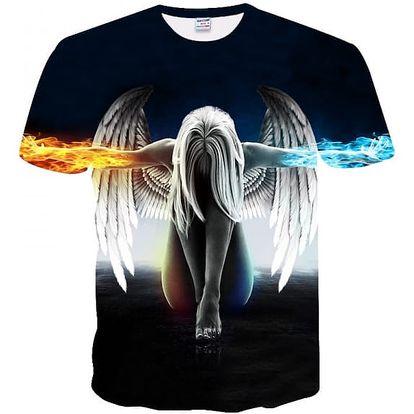 Pánské tričko s 3D potiskem - 11 variant