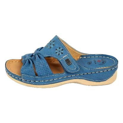 Dámské zdravotní pantofle KOKA 12 modré