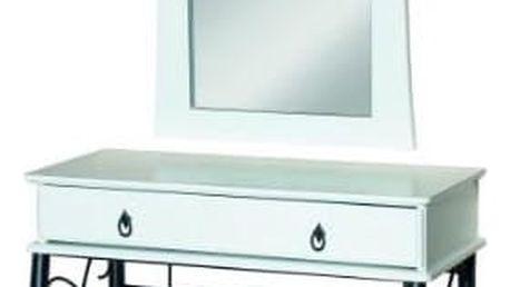 Toaletní sada 1102 bílá/černá