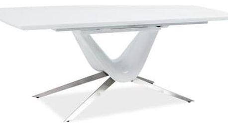 Stůl SAVINO bílý 160(200)x90 cm