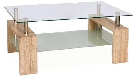 Stůl konferenční LISA II - dub san remo