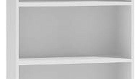 Regál 60 cm bílý
