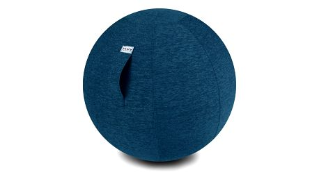 Modrý sedací míč VLUV Stov, Ø70- 75cm
