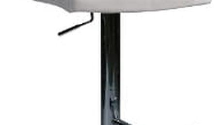 Stolička barová KROKUS C-105 krémová