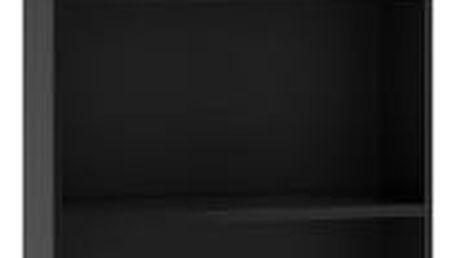 Regál 40 cm černý