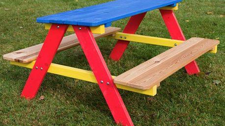 Tradgard PIKNIK 2753 Dětský zahradní dřevěný set FSC