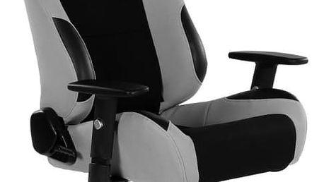 RACEMASTER® RS Series 47010 Kancelářská židle - černá/šedá