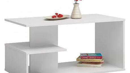 Konferenční stolek DALLAS bílá mat