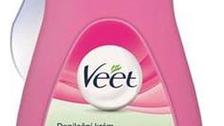 Veet Silk & Fresh pro suchou pokožku 400 ml