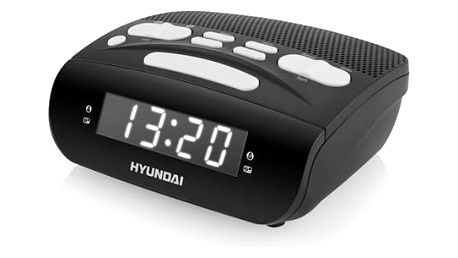 Radiobudík Hyundai RAC518PLLBW černý/bílý