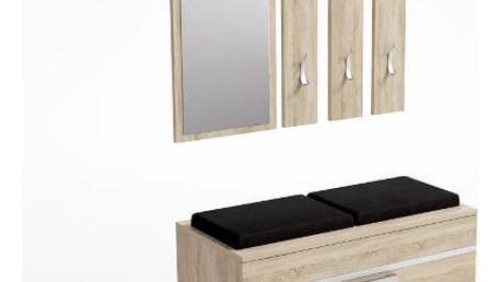 Předsíňová stěna s botníkem OPAL dub sonoma