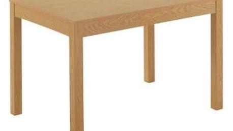 Stůl PRISM dub 120(160)x80x75 cm