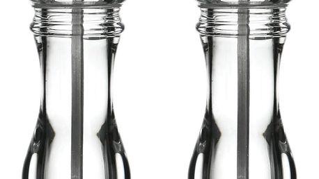 Sada 2 mlýnků na pepř a sůl v průhledném provedení Premier Housewares
