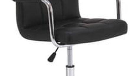 Křeslo kancelářské otočné Q-022 černá