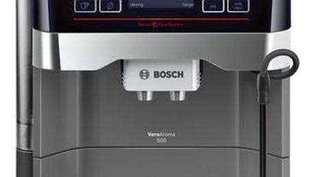 Espresso Bosch TES60523RW titanium