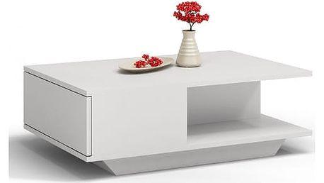 Konferenční stolek DENVER bílá