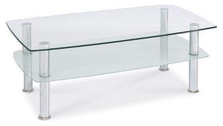 Stolek konferenční PANDA skleněný