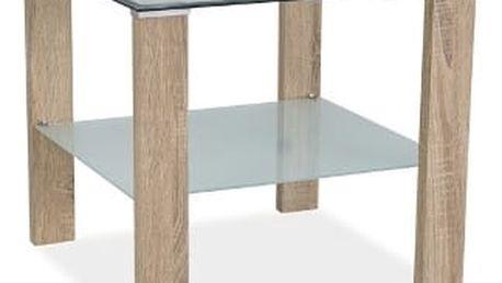 Stůl konferenční KARINA D - dub sonoma
