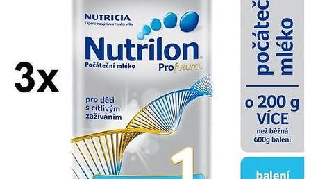 Nutrilon 1 Profutura od 0. měsíce, 800g x 3ks