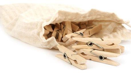 Sada 24 kolíčků v pytlíčku Iris Hantverk