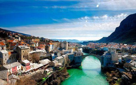 Bosna a Hercegovina s koupáním na Makarské riviéře   5denní poznávací zájezd