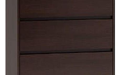 Komoda 6 šuplíků Wenge