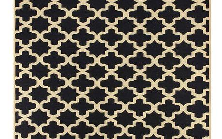 Tmavě modrý koberec Ya Rugs Tan, 80x150cm