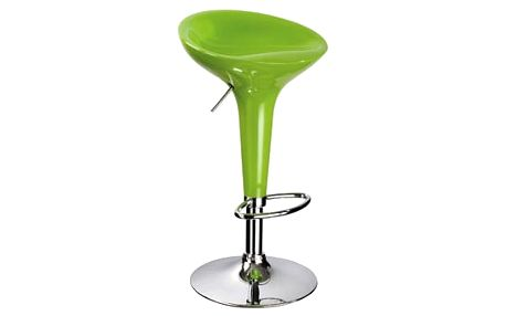 Stolička barová KROKUS A-148 zelená