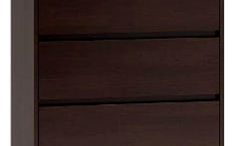 Komoda 5 šuplíků Malva Wenge