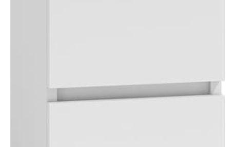 Noční stolek M2 bílý