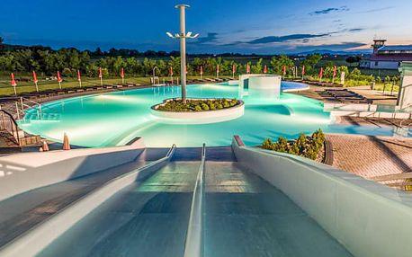 Malé Bielice s termálními bazény a stravou