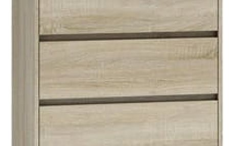 Komoda 5 šuplíků Malva Dub Sonoma