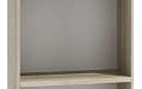 Regál 40 cm dub sonoma