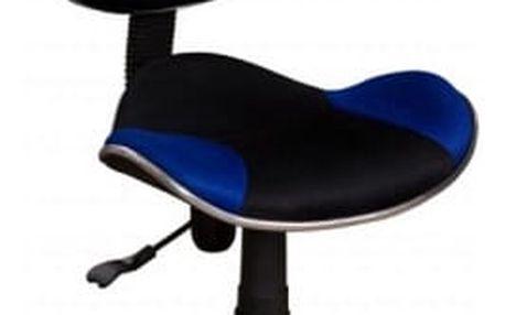 Židle kancelářská Q-G2 černo-modrá